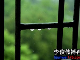 窗外又是潇潇,流淌的却不是故乡的雨。故乡的雨中